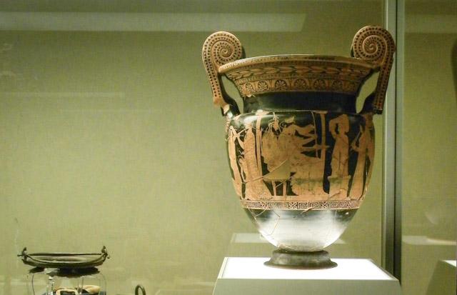 Museo archeologico nazionale di ferrara for Vaso attico